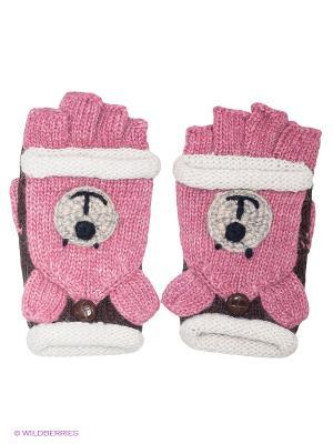Перчатки Maxval. Цвет: розовый, коричневый
