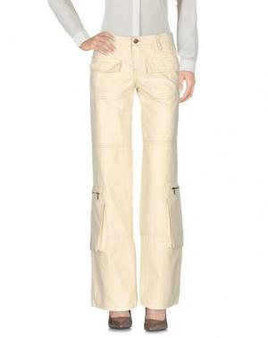 Повседневные брюки JAGGY. Цвет: бежевый