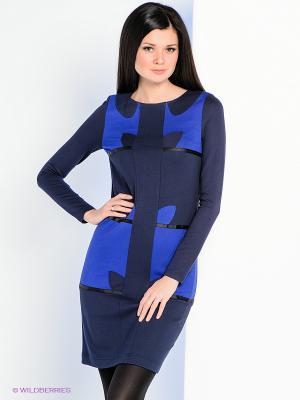 Платье Personage. Цвет: темно-синий, синий