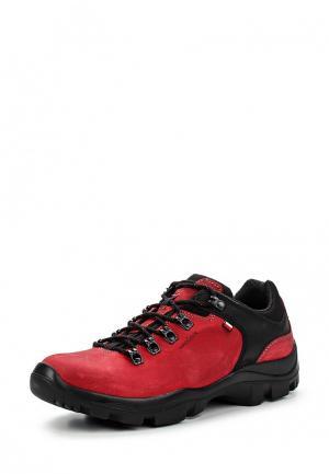 Ботинки трекинговые Wojas. Цвет: красный