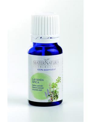 Эфирное Масло Лаванда широколистная Spike Lavender, 10 мл Mater Natura. Цвет: темно-зеленый