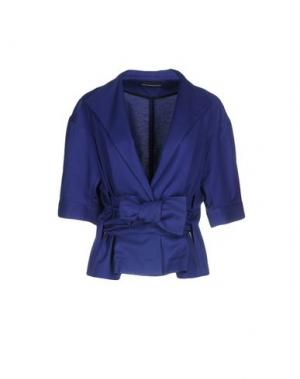 Пиджак GIO' GUERRERI. Цвет: темно-синий