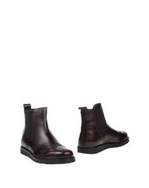 Полусапоги и высокие ботинки FABIANO RICCI. Цвет: темно-коричневый