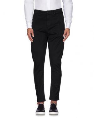 Повседневные брюки EXIBIT. Цвет: черный