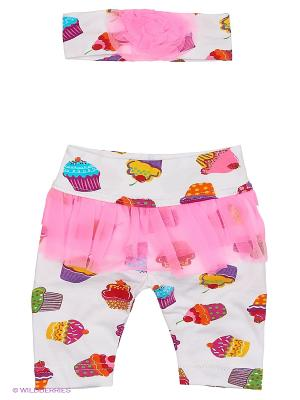 Комплект одежды Baby Boom. Цвет: белый