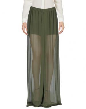 Повседневные брюки CHRISTIES. Цвет: зеленый-милитари