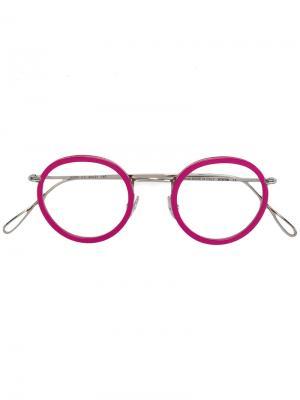 Очки John Kyme. Цвет: розовый и фиолетовый