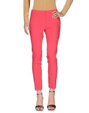 Повседневные брюки AQUILANO-RIMONDI. Цвет: коралловый