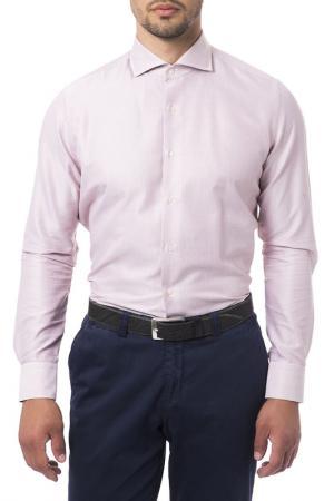 Рубашка Trussardi Collection. Цвет: розовый