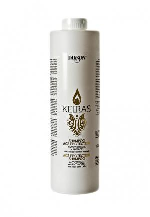 Себобалансирующий шампунь Keiras Dikson. Цвет: белый