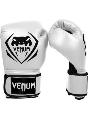 Перчатки боксерские Venum Contender - Ice. Цвет: белый