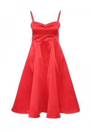 Платье Chic. Цвет: красный
