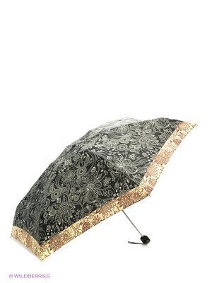 Зонт Zest. Цвет: черный, коричневый