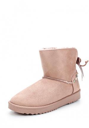 Полусапоги Sweet Shoes. Цвет: розовый