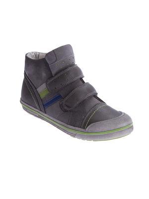 Ботинки S`Cool. Цвет: серый