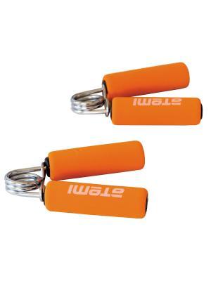 Эспандер кистевой (мягкие ручки), 2 шт Atemi, AHG-02 Atemi. Цвет: оранжевый