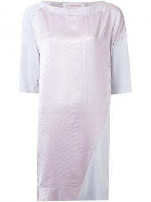 Платье Fairest A.F.Vandevorst. Цвет: розовый и фиолетовый