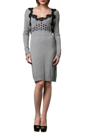 Платье JOELLE JO'ELLE. Цвет: серый
