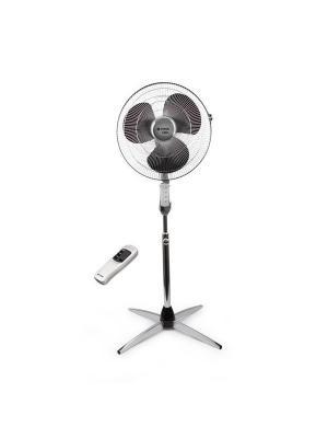 Вентилятор VITEK 1905(CH) напольный. Цвет: черный, белый