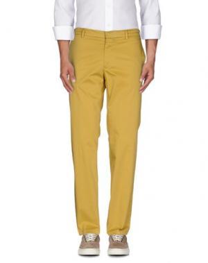 Повседневные брюки GABARDINE. Цвет: охра
