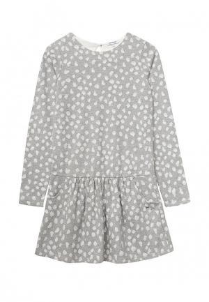 Платье 3 Pommes. Цвет: серый