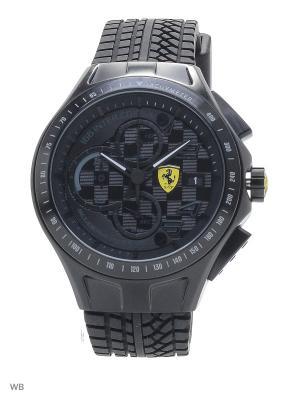 Часы SCUDERIA FERRARI. Цвет: черный