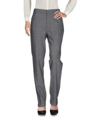 Повседневные брюки GARAGE NOUVEAU. Цвет: свинцово-серый