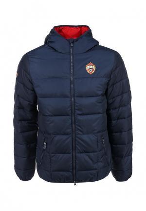 Куртка утепленная Atributika & Club™. Цвет: синий