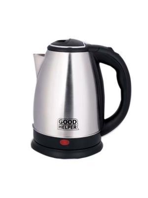 Чайник электрический и молотый кофе в подарок PROFFI. Цвет: серый, черный