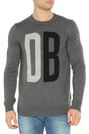Футболка Dirk Bikkembergs. Цвет: b922, mel.dark gray