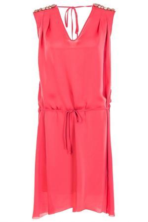 Платье Nude. Цвет: розовый