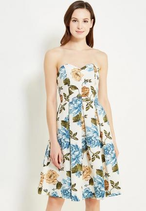 Платье Irina Vladi. Цвет: разноцветный