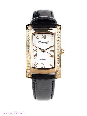 Часы Romanoff. Цвет: черный, золотистый