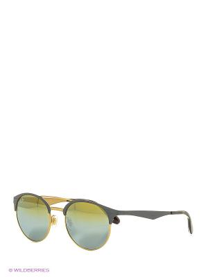 Очки солнцезащитные Ray Ban. Цвет: серый