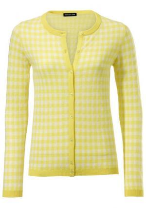 Кардиган PATRIZIA DINI by Heine. Цвет: желтый/белый, розовый/белый