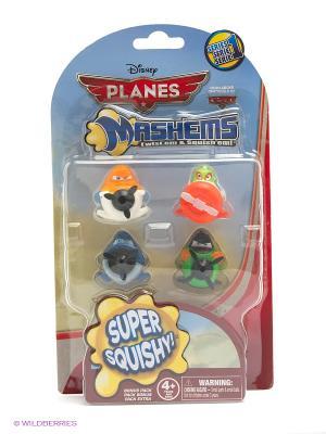 Игрушка детская Самолеты,  игрушки-мялки, 4 шт., в наборе TECH4KIDS. Цвет: красный, желтый, голубой