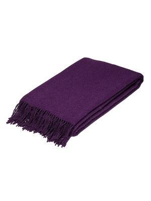 Плед РУНО. Цвет: фиолетовый