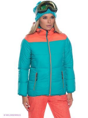 Куртка BRUNOTTI. Цвет: бирюзовый, оранжевый