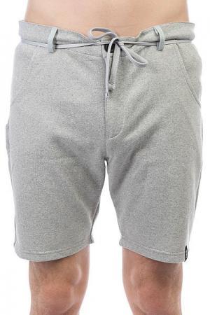 Шорты классические  Shorts Grey Emblem. Цвет: светло-серый