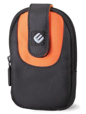 Era Pro Чехол для фотоаппарата EP-011003  11,5х8,5х2,2 см. чёр/оранж. Цвет: оранжевый, черный