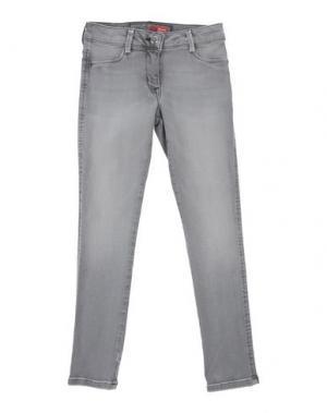 Джинсовые брюки EDDIE PEN. Цвет: серый