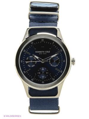 Часы наручные Kenneth Cole. Цвет: синий