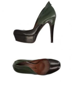 Туфли FIORIFRANCESI. Цвет: темно-коричневый