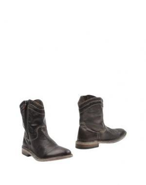 Полусапоги и высокие ботинки MANILA GRACE. Цвет: темно-коричневый