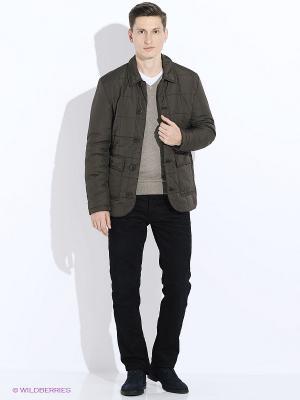 Куртка Baon. Цвет: темно-коричневый