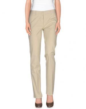 Повседневные брюки ALTEA dal 1973. Цвет: бежевый