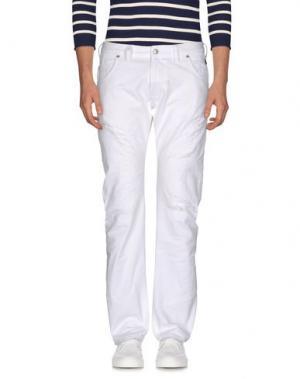 Джинсовые брюки ZU+ELEMENTS. Цвет: белый