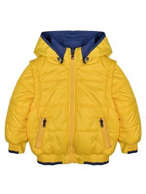 Куртка Bell bimbo. Цвет: светло-желтый