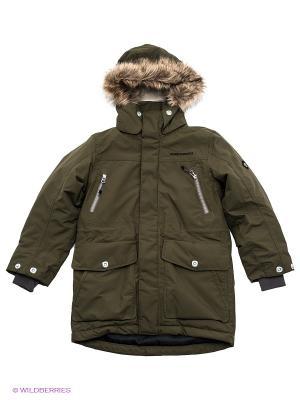 Куртка DIDRIKSONS. Цвет: хаки