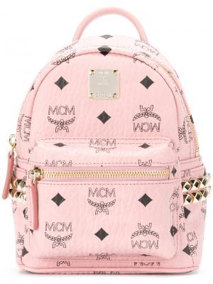 Мини рюкзак Stark MCM. Цвет: розовый и фиолетовый